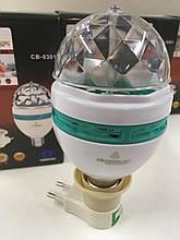 Диско лампа LASER CB-0301 (100 шт/ящ)