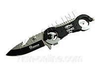 Раскладной нож L105 черный (S08390)