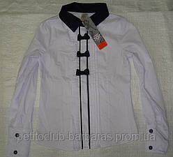 Блуза  с бантиками для девочки