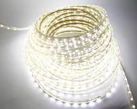 Светодиодная лента 220В SMD2835 60LED IP68 White