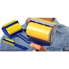Набор липких валиков для уборки Sticky Buddy, цвет желтый, фото 2