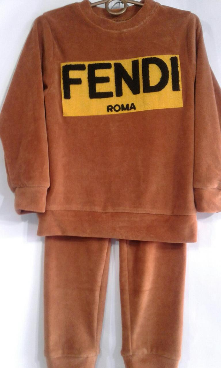 "Детский костюм 116-140 "" FENDI "" 190040"
