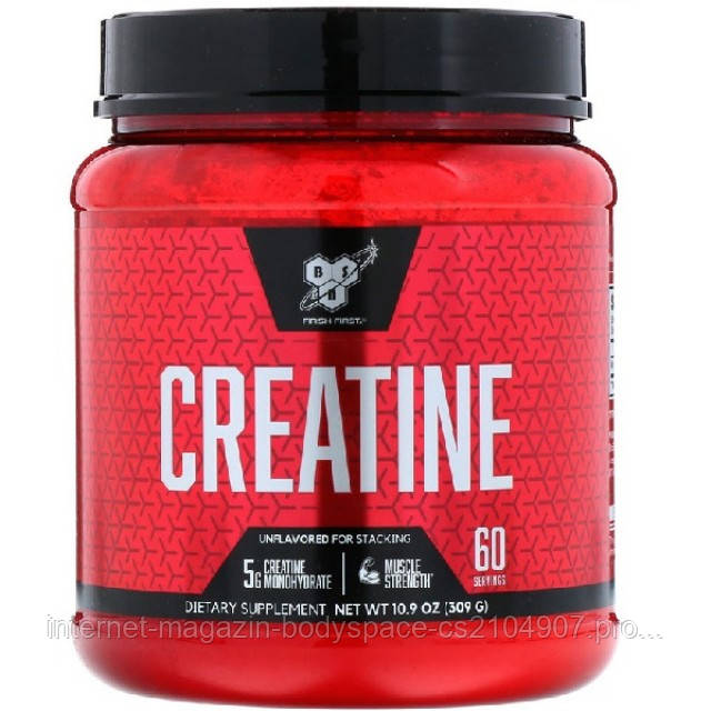 BSN Nutrition, Креатин Creatine Unflavored, 309 грамм