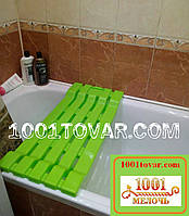 Сидение в ванную из сверхпрочного пластика, салатное