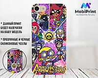 Силиконовый чехол для Huawei Honor 8 Lite Brawl Stars (17147-2063)
