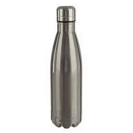 Термос бутылка №3 (черный, серебро),0,5л (S08643)