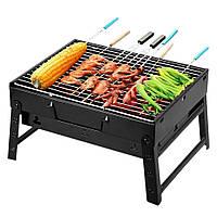 Складной барбекю гриль портативный гриль BBQ Grill Portable (S08759)