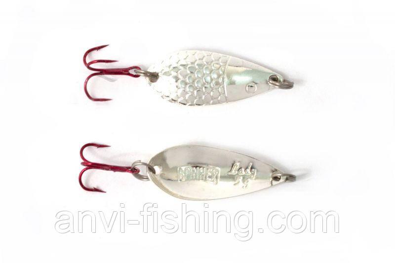 Блесна Spinnex Lady Silver вес - 5g, длина - 35mm