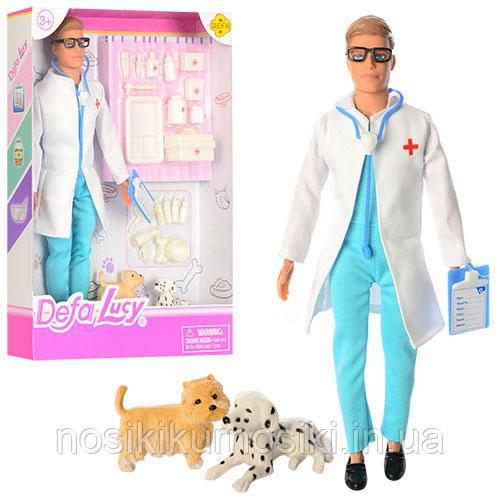 Лялька Defa Дефа 8346B Кен ветеринар, доктор