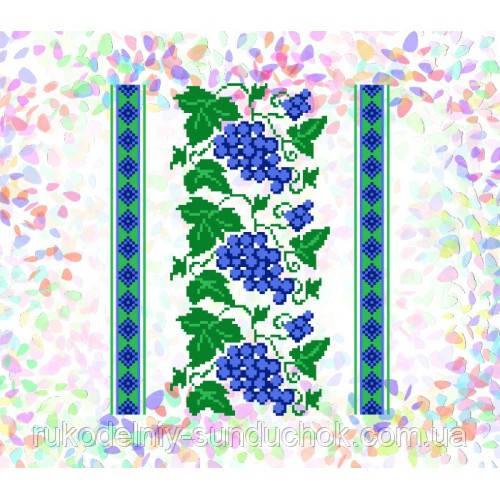 "Водорастворимый флизелин с рисунком ""Confetti"" (K 257 Виноград)"