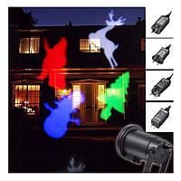 Лазерный проектор DIY с эффектом цветомузыки (11 кассет) (S08952)