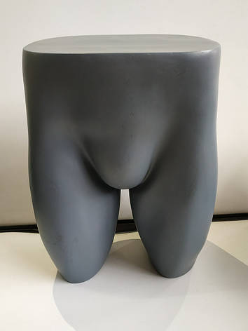 Манекен мужской поясной б/у серые манекены для трусов, фото 2