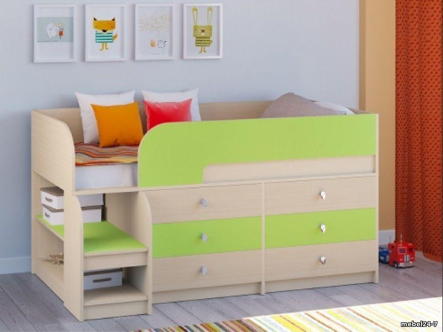 Детская кровать-чердак ДМО 35