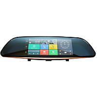 Автомобильный видеорегистратор-зеркало Android  K35  с камерой заднего вида (S08974)