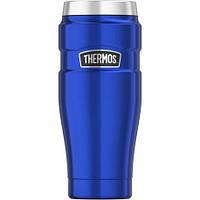 Термокружка Thermos Stainless King Travel Tumbler, Metallic Blue, 470 ml. (160027), фото 1