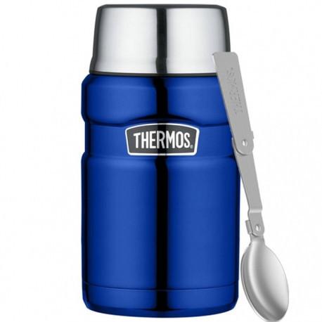 Термос для еды Thermos Stainless King Food Flask, Metallic Blue, 710 ml. (173055)
