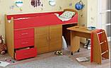 Детская кровать-чердак со столом ДМО 41, фото 4