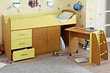 Детская кровать-чердак со столом ДМО 41, фото 5