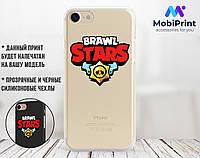 Силиконовый чехол для Xiaomi Redmi 6A Brawl Stars (31051-2065)