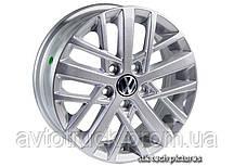 14 5*100 5,5 40 57,1 Replica Volkswagen WR-M0001 Silver