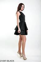 Симпатичне лялькове плаття з вирізом на спині і спідницею воланами Evis