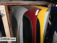 Крышка багажника на Renault Kangoo ляда Renault Kangoo  кляпа