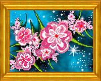 Схема для вышивания Небесные цветы