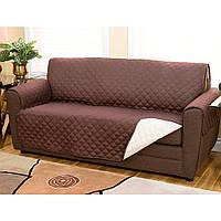 Двусторонняя накидка на диван - Couch Coat (водоотталкивающая) (S09391)