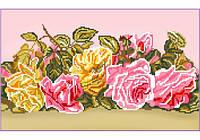 Схема для вышивания Розовый букет
