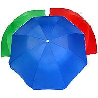 Зонт пляжный с наклоном 220 cm . - МОНОТОННЫЙ  Ткань с защитой от УФ излучения (S09498)