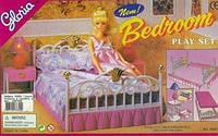 Мебель для кукол типа барби Gloria Спальня 99001