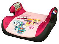 Детское автокресло бустер 15 - 36 кг PAW PATROL  автомобильние бустеры