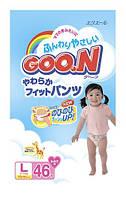 Подгузники Goo.N Большой для девочек мега
