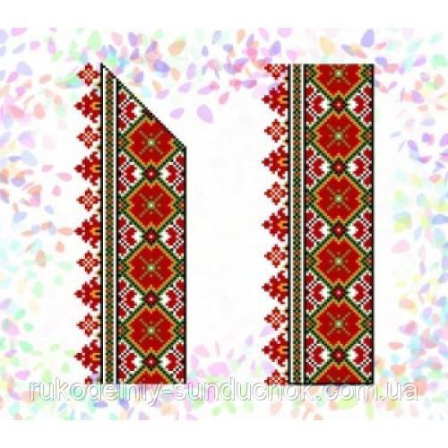 """Водорастворимый флизелин с рисунком """"Confetti"""" (K 268 Гуцульский орнамент)"""