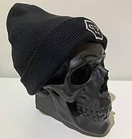 Шапка мужская черная Philipp Plein Logo - ❄️ Winter ❄️ Черная, фото 1