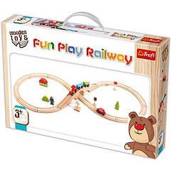 Детская железная дорога интерактивная игрушка Trefl (60921)
