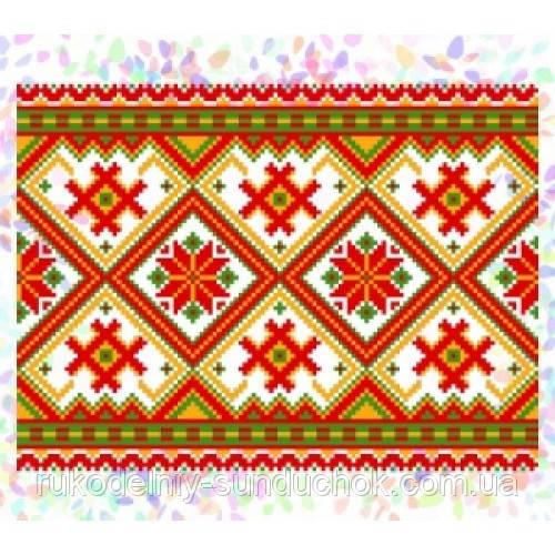 """Водорастворимый флизелин с рисунком """"Confetti"""" (K 271 Гуцульский орнамент)"""