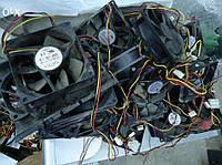 Кулера для корпуса компьютера , блока питания 8см, фото 1