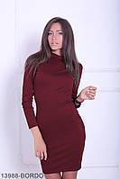 Стильне повседнедневное плаття з коміром гольф Barren