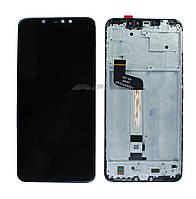 Дисплей Xiaomi Redmi Note 6 Pro (M1806E7TG / M1806E7TH / M1806E7TI) complete with frame Black