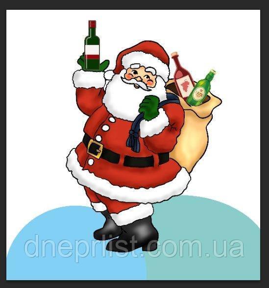 Фотозона Новогодний Санта