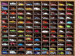 """Стеллаж для игрушечных машинок """"Форд"""""""
