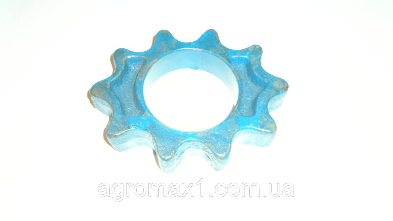 Звездочка овальная подтрасывающая для картофелекопалки agromet z609