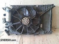 Радиатор кондиционера Renault Megane 1 охлаждения дифузор