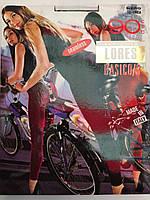 Женские  лосины длинные LORES BASICO/3, 90DEN,цвет серые.Фирменные лосины купить оптом и в розницу