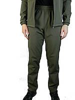 Штаны,брюки ,зимние,плащевка с начесом Soft-Shell,камуфляж,50-52-54-56
