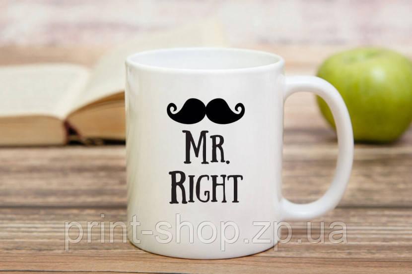 Чашка Mr.Right