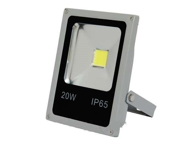 Led светодиодный прожектор 20 Вт Slim (тонкий) 6500К