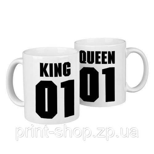 Парные кружки King and queen