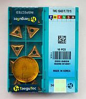 TNMG160408 TaeguTec TT8125 Пластина  твердосплавная трехгранная